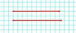 Начерти отрезки длиной 50 мм и 5 см 2 мм. Узнай, на сколько миллиметров длина одного из них больше длины другого.