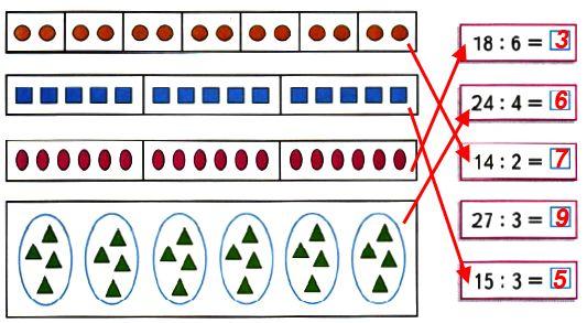 Соедини линией карточку с выражением и рамку с соответствующим ему рисунком. Вычисли значения выражений.