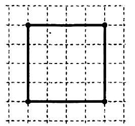 """Папа и Леня делают цветник квадратной формы. Папа сказал: """"Сделаем так, чтобы сторона нашего квадрата была на 12 м меньше его периметра""""."""
