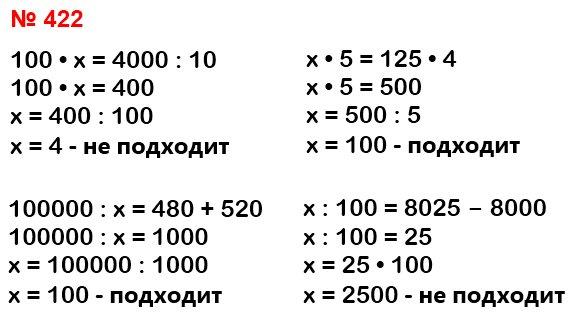 Найдите уравнения, в которых неизвестное число равно100