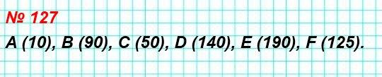 127. Найдите координаты точек А, В, С, D, Е, F на рисунке 57.