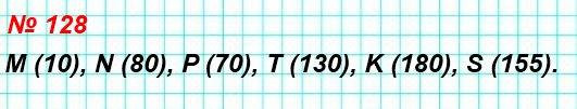 128. Найдите координаты точек M, N, P, T, K, S на рисунке 58.